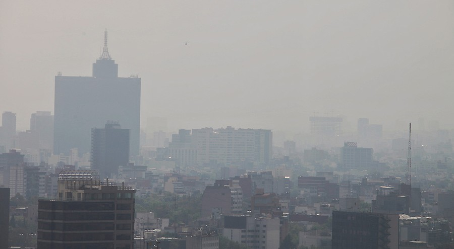 Contaminación en la ciudad de México Elementos para un diagnóstico en la crisis de la primavera de 2016